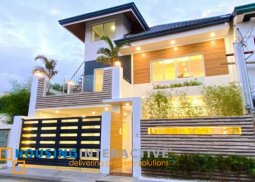 Tropical inspired house and Lot for sale at Pasig City