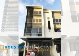 New Conditioned 3-Bedroom Townhouse in Diliman
