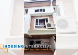 Brand NEW Fully Furnished Townhouse in Heroes Hill, Quezon City