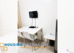 SEMI FURNISHED 1 BEDROOM UNIT FOR RENT AT SEA RESIDENCES MANILA