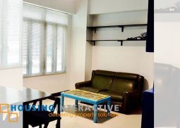 FULLY FURNISHED 1-BEDROOM UNIT FOR RENT/SALE AT STAMFORD EXECUTIVE RESIDENCES