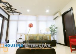 FULLY FURNISHED 2 BR PENTHOUSE UNIT FOR RENT AT FORT RESIDENCES BGC