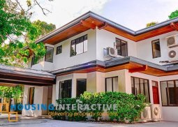 Semi Furnished 4Bedroom House and Lot for Sale in Ayala Alabang Village