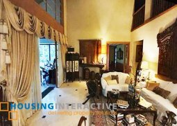 Grand Luxurious Fully Furnished 5-Bedroom House-and-Lot for Sale in Greenhills