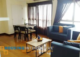Fully Furnished 3Bedroom unit for rent in The Residences at Greenbelt