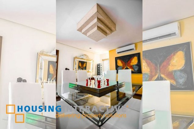 SEMI FURNISHED 4 BEDROOM HOUSE FOR SALE AT AYALA ALABANG VILLAGE