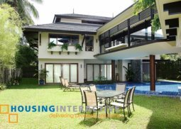 Semi Furnished 6BR House for Sale in Ayala Alabang Village