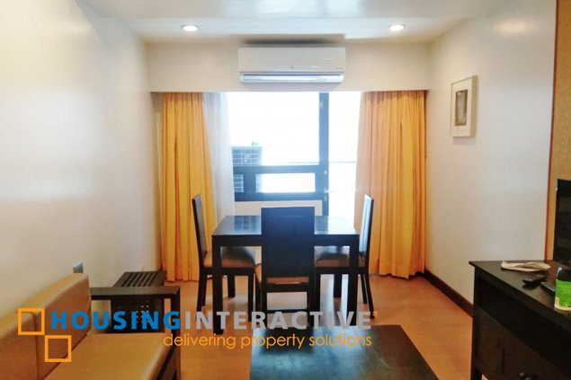 FULLY FURNISHED 1BR FOR SALE AT MALAYAN PLAZA