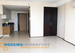 NEWLY TURNED OVER STUDIO UNIT FOR SALE AT THE VIRIDIAN AT GREENHILLS