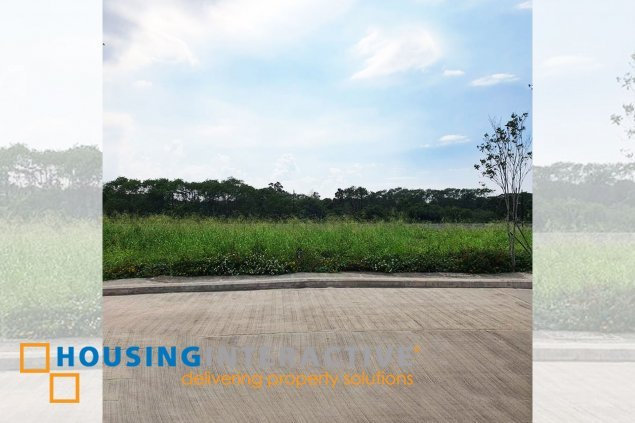 LOT FOR SALE AT ALABANG
