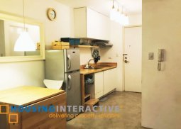 Minimalist-Designed 1-Bedroom unit for Rent in Linear Makati