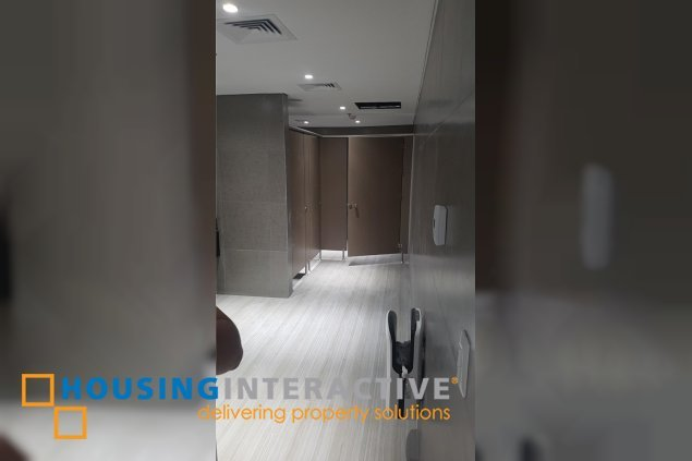 Bare shell office space for lease in BGC