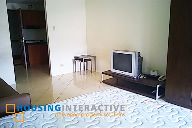 FULLY FURNISHED STUDIO UNIT FOR RENT AT PASEO PARKVIEW SUITES