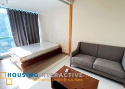 FULLY FURNISHED 1 BEDROOM UNIT FOR RENT IN ONE UPTOWN RESIDENCES BGC