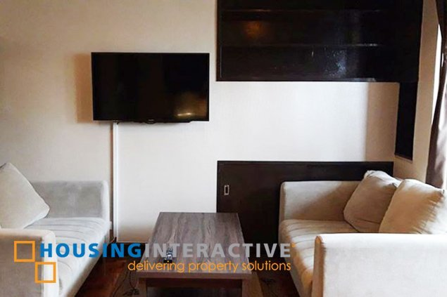 Fully Furnished 2BR Unit for rent at Sunette Tower