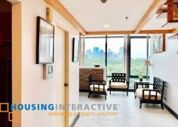 Fully Furnished 1BR Unit for sale at Bellagio Two