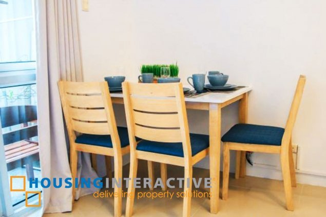 FULLY FURNSIHED STUDIO UNIT FOR RENT IN GREENBELT CHANCELLOR