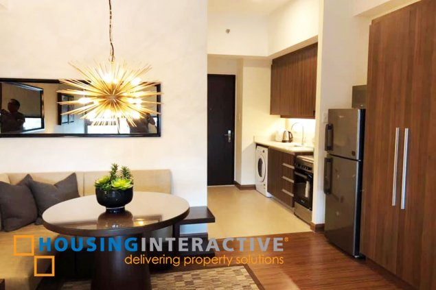Fully Furnished Studio unit for Sale in Shang Salcedo Place