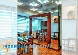 FULLY FURNISHED 1BR UNIT FOR LEASE IN TIFFANY MANSION GREENHILLS