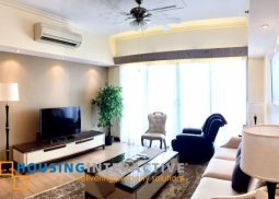 FULLY FURNISHED 3BEDROOM UNIT FOR RENT AT ONE SHANGRI-LA PLACE