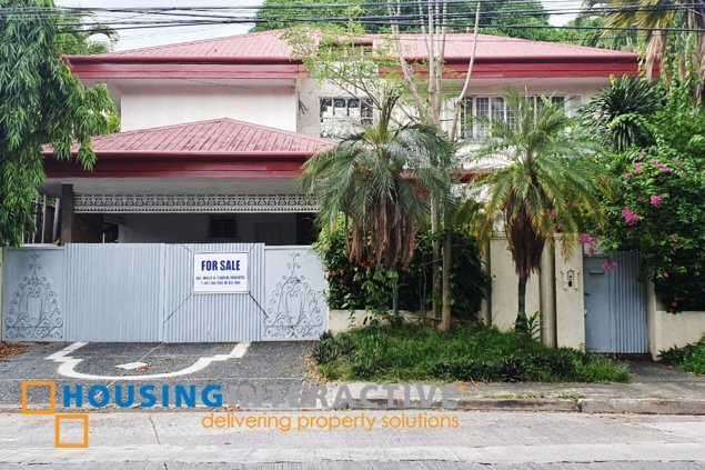 Bare 5-Bedroom Grand House for Sale in Ayala Alabang