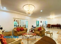 Semi-Furnished 5-Bedroom Grand House for Sale in Alabang