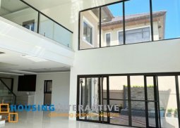 Bare 5-Bedroom Modern House for Sale in Alabang