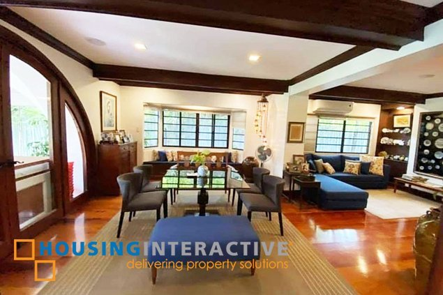Semi-Furnished 6-Bedroom Grand House in Forbes Park