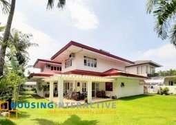 Fully Furnished 5-Bedroom Grand House in Ayala Alabang