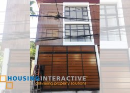 Bare 3-Bedroom Townhouse for Sale in San Juan City
