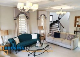 Fully Furnished 5-Bedroom Grand House for Sale in Portofino Heights
