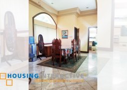 Semi-Furnished Classic House for Sale in Alabang