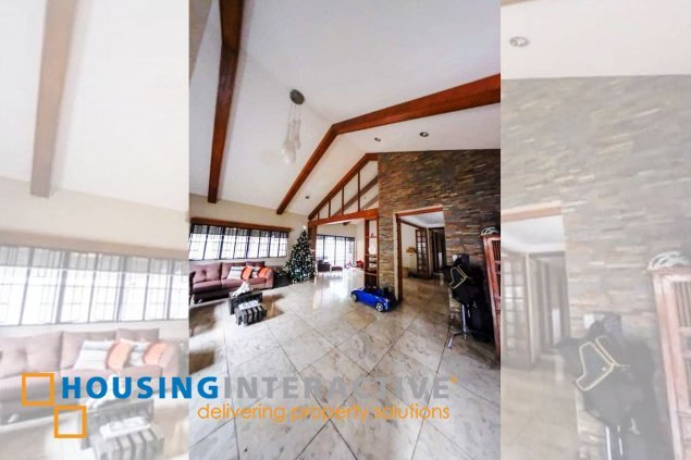 Semi-Furnished 4-Bedroom House for Sale in Ayala Alabang