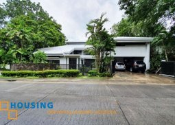 Renovated 5-Bedroom House for Sale in Ayala Alabang