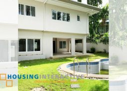 Bare 5-Bedroom House for Sale in Ayala Alabang