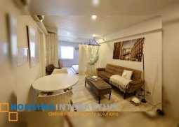 FULLY FURNISHED 1BR UNIT FOR LEASE/SALE IN ONE CASTILLA PLACE QUEZON CITY