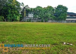 SPACIOUS LOT FOR SALE IN AYALA ALABANG