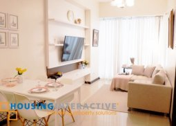 FULLY FURNISHED 1BR FOR LEASE IN GRAND HAMPTONS BGC