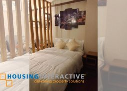 FULLY FURNISHED STUDIO UNIT FOR RENT IN ETON TOWER