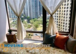 Fully Furnished 1-Bedroom Unit for Rent/Sale at Bellagio Three