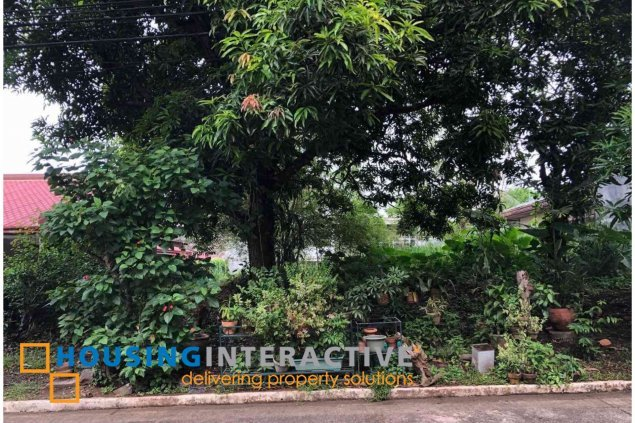 VACANT LOT FOR SALE IN AYALA HEIGHTS