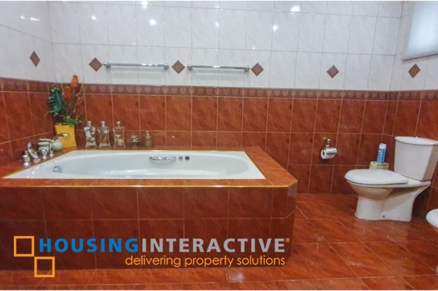SEMI-FURNISHED 5-BEDROOM HOUSE FOR SALE OR RENT IN PALLADIUM SUBDIVISION