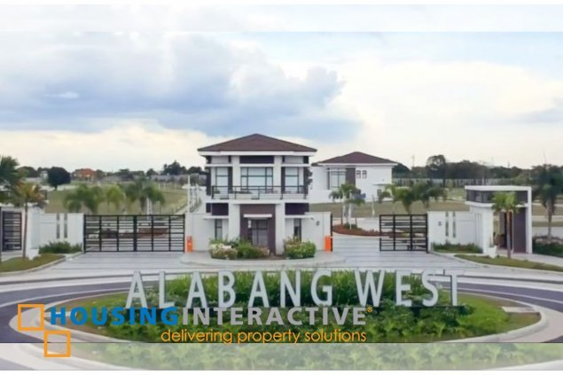 SPACIOUS LOT FOR SALE IN ALABANG WEST VILLAGE