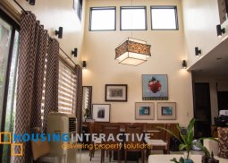 SEMI-FURNISHED 3-STORY, 4-BEDROOM HOUSE FOR SALE IN MAHOGANY PLACE