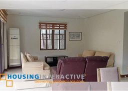 SEMI-FURNISHED RENOVATED 3-BEDROOM HOUSE WITH POOL FOR RENT IN AYALA ALABANG VILLAGE