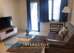 FULLY FURNISHED 1BR UNIT FOR LEASE IN ICON PLAZA BGC