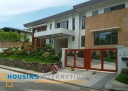 Semi Furnished 4BR House and Lot for rent at Ayala Alabang Village