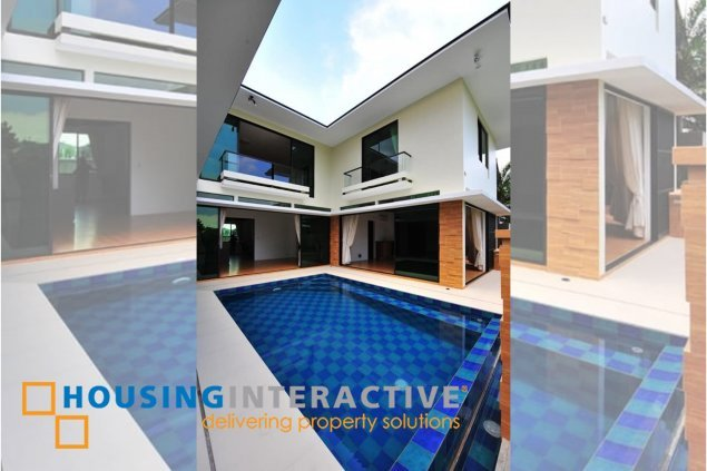 BARE 5-BEDROOM HOUSE FOR SALE IN AYALA SONERA