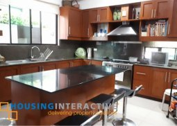FULLY FURNISHED 3-STORY, 5-BEDROOM HOUSE FOR SALE IN PALMS POINTE VILLAGE