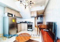 Fully Furnished 1Bedroom Loft type for rent at Eton Emerald